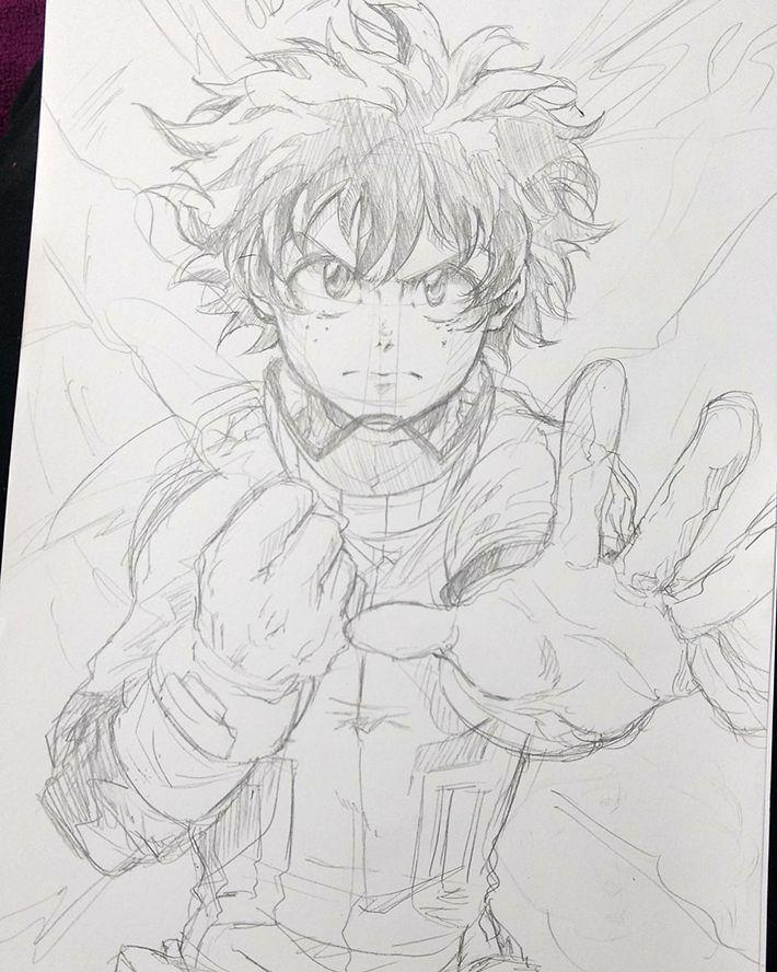 Auxilio Deku Bokunoheroacademia Myheroacademia Midoriyaizuku Doodle Mamaestoyenlapasta Fanart W Anime Sketch Anime Drawings Boy Anime Drawings Sketches