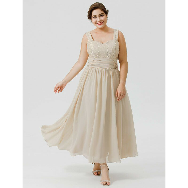 Mother Of The Bride Dresses Suits With Jackets Plus Size UK 12 14 16 18 20 22+