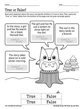 Owl Moon Pilgrim Coloring Page For Adults In 2019 Coloring Pages
