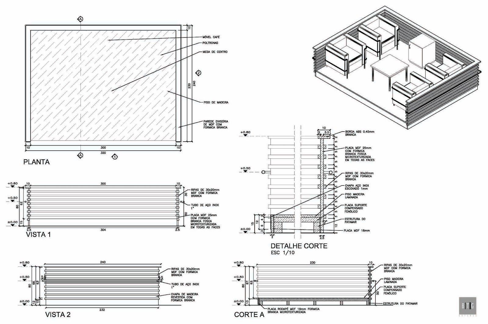 MARIANA PROJETISTA: Portifólio #12: Desenho de Mobiliário