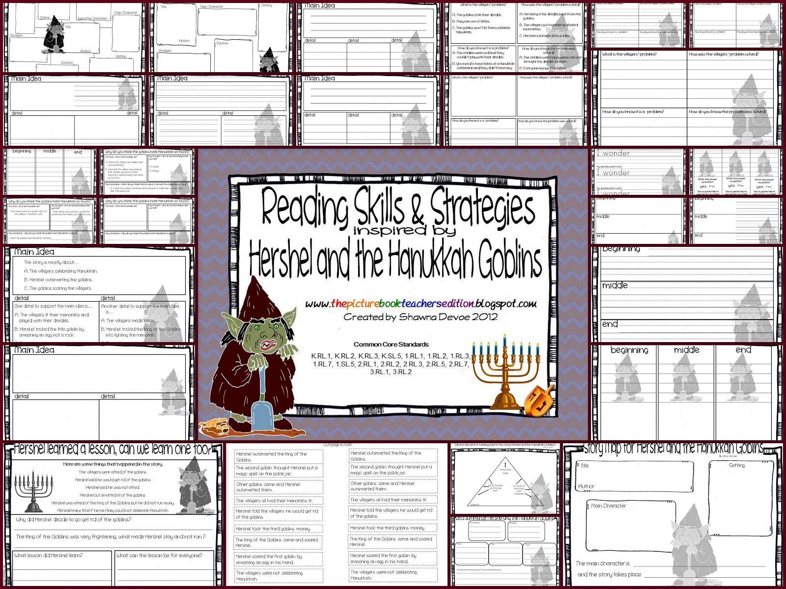 Hershel And The Hanukkah Goblins By Eric Kimmel