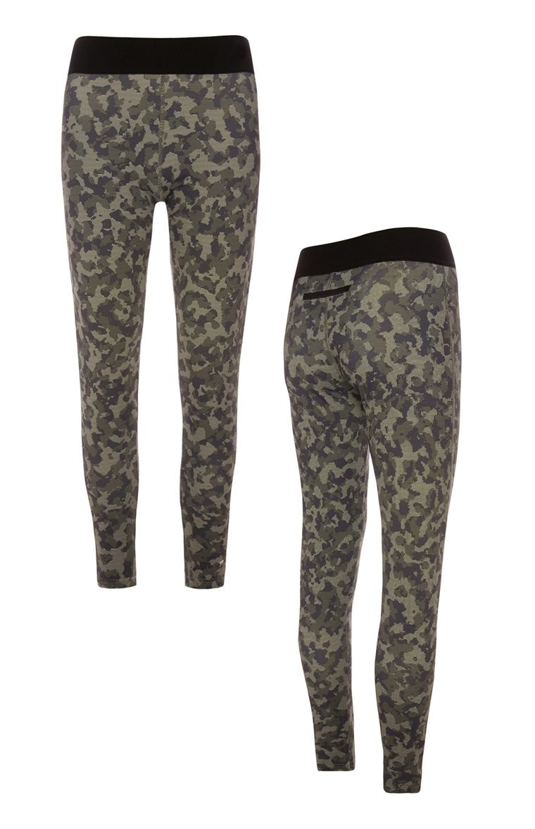 b205b85a2b Primark - Camo Workout Leggings | primark | Workout leggings, Camo ...