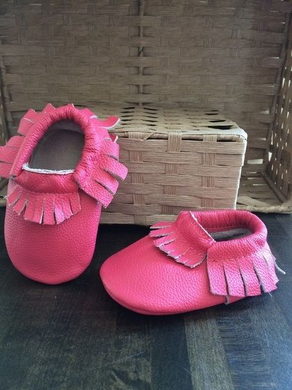 b35b15eb69873d Baby and toddler moccasins! Wide range of colors