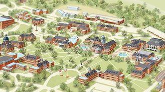 Map Of Samford University Campus Birmingham Alabama Pinterest
