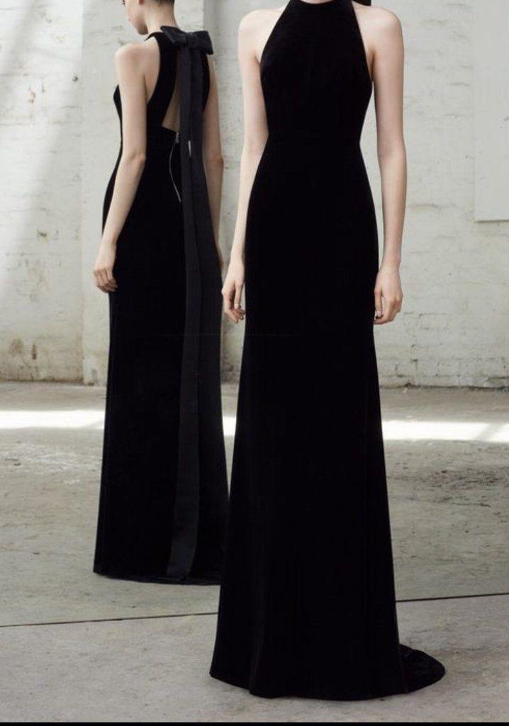 Gretel Black Maxi Sleeveless Dress