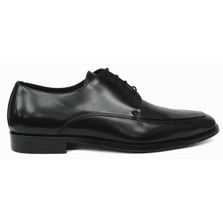 Vista En Zapato Con Blucher Lottusse Negra Lateral Bordón De Piel 66Bq8xTwt