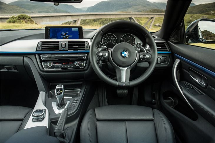 BMW 4 Series Gran Coupe M Model Interior