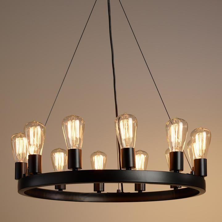 Cost plus world market round 12light edison bulb