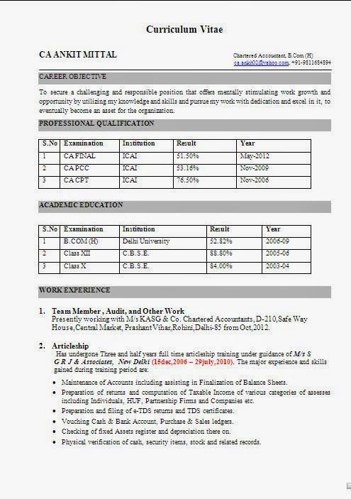 como curriculum vitae Sample Template Example ofExcellent - resume vitae sample
