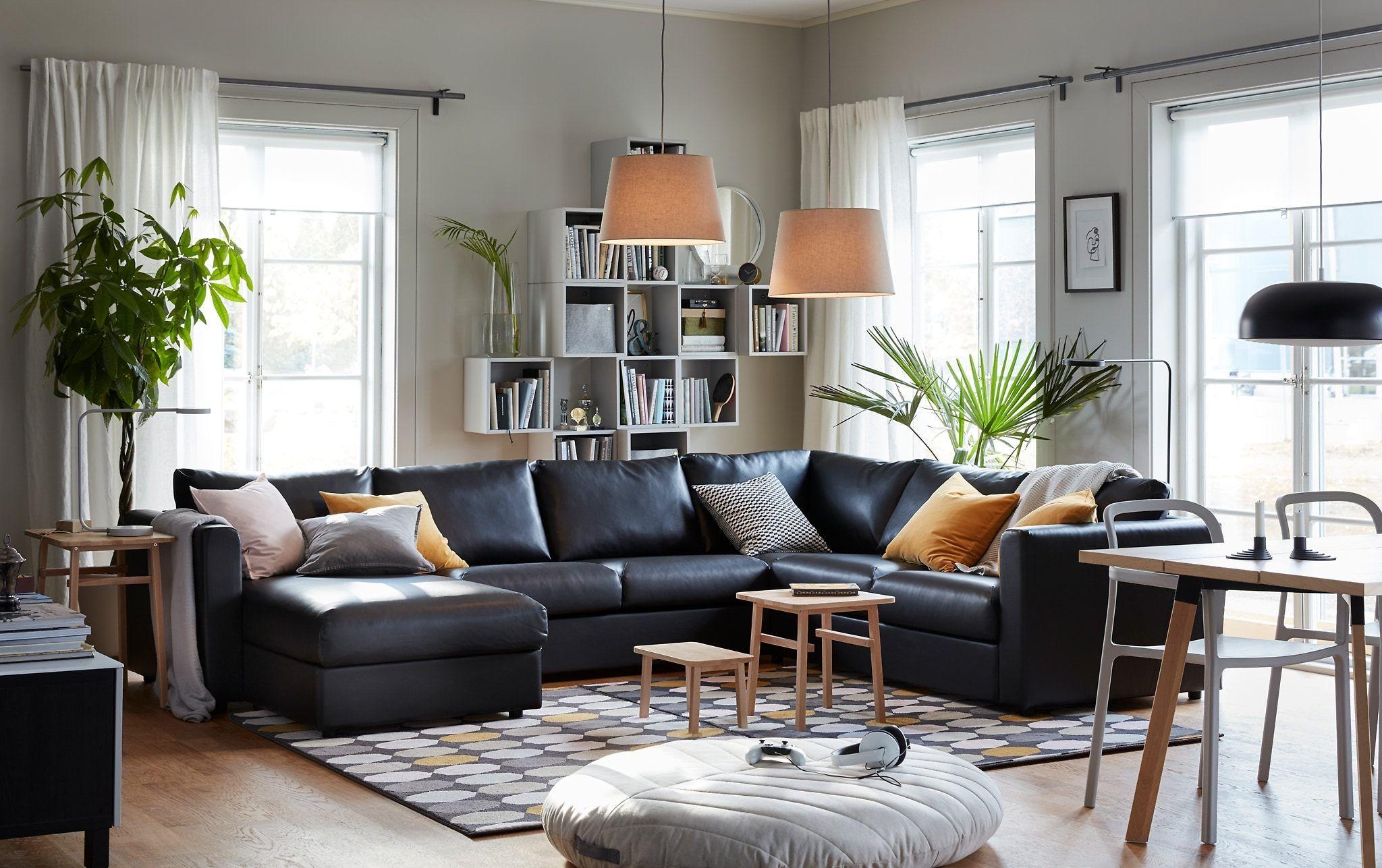 Black Modern Living Room Furniture Brown Living Room Living Room Decor Ikea Modern Furniture Living Room