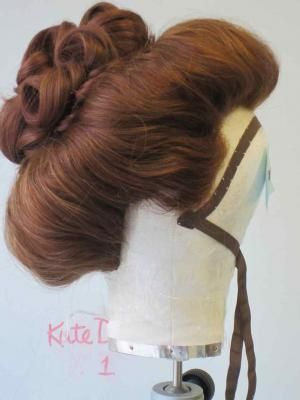 Photos Of Work From Period Hair Courses Hats Other Frivolities