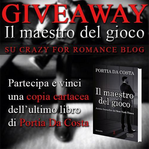 CrazyForRomance: Il maestro del gioco di Portia Da Costa, recension...
