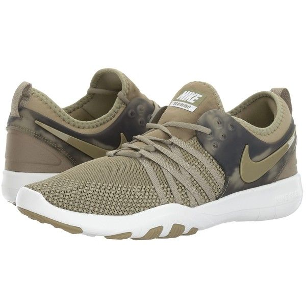 Nike Free Tr 7 Amp Trooper Trooper Vintage Green Women S Cross 100 Liked On Polyvore Featuring Shoes With Images Nike Free Cross Training Shoes Breathable Shoes