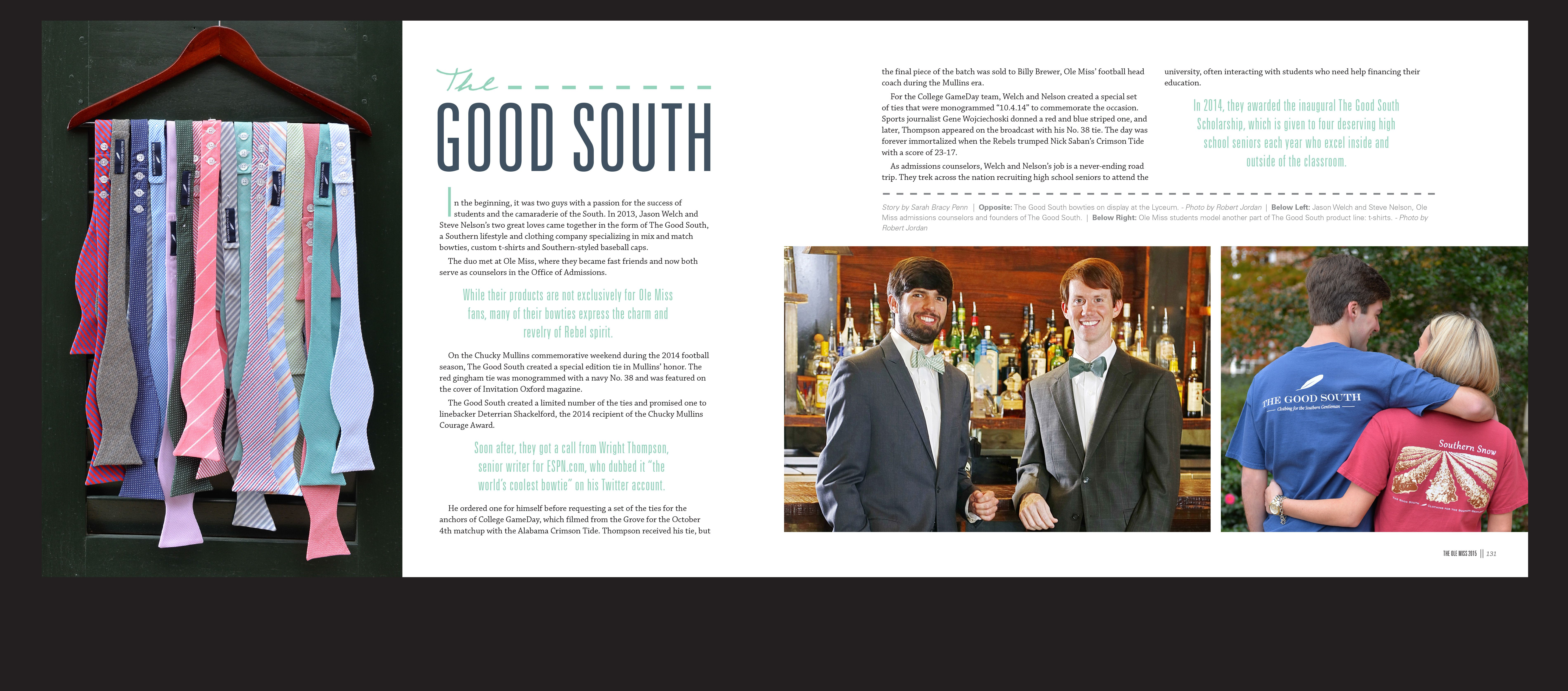 Ole miss gameday colors 2015 - The Good South In The University Of Mississippi S 2015 Yearbook The Ole Miss