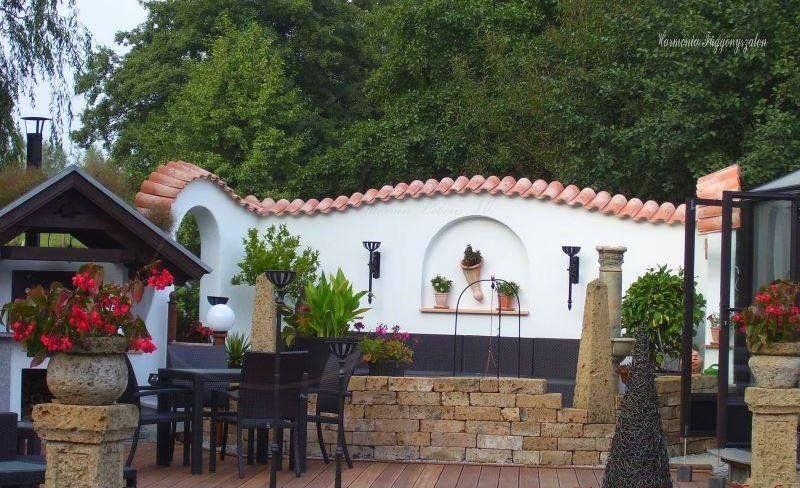 Pin By Ernesto On 자전ㄱㅓ Garden Deco Mediterranean Garden Patio Style