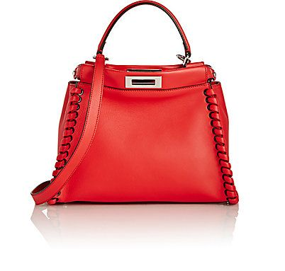 We Adore: The Peekaboo Satchel from Fendi at Barneys New York