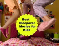 Sleepover Movies | Fun Ideas For Movies To Watch For A Kids Sleepover By DIY Ready. http://diyready.com/15-fun-things-to-do-at-a-sleepover/