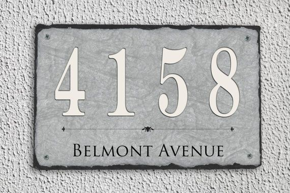 We have a large range of house number plaques to suit all tastes