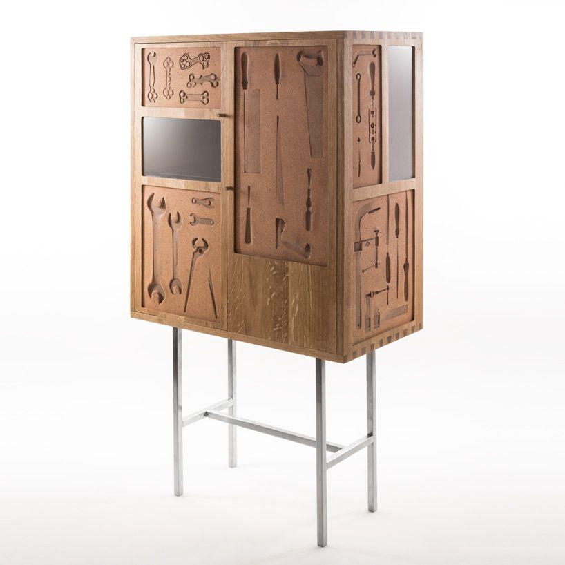 Tv Kast Fossiel.Dossofiorito Presents Les Choses Cabinet At Saint Etienne Biennale