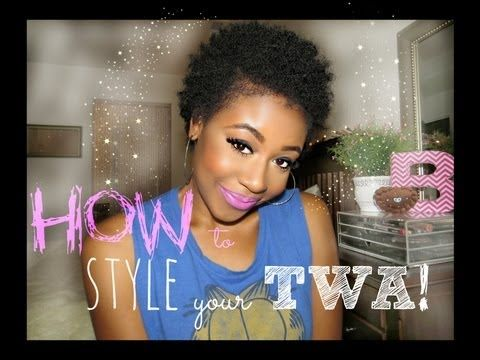 3 Hot Hairstyles For Short Natural Hair Tapered Cut Shaped Fros