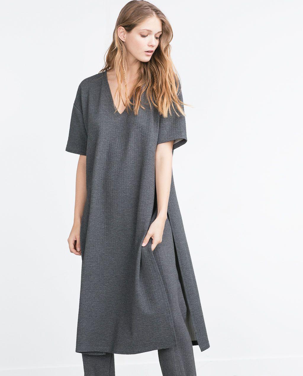 Image  of JACQUARD PATTERN TOP from Zara  Looks  Pinterest  Woman