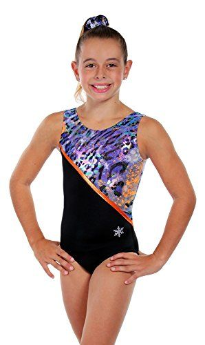 3236a9772 Snowflake Designs Leotard - Orange Pounce