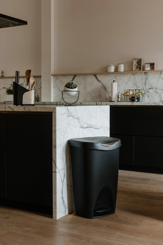 Decorative Wooden Kitchen Trash Bins In 2020 Wooden Kitchen Kitchen Trash Cans Trash Bins