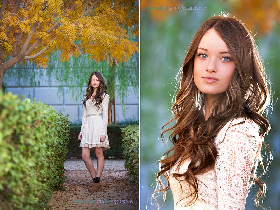 I love the picture on the right...beautiful light in her hair!