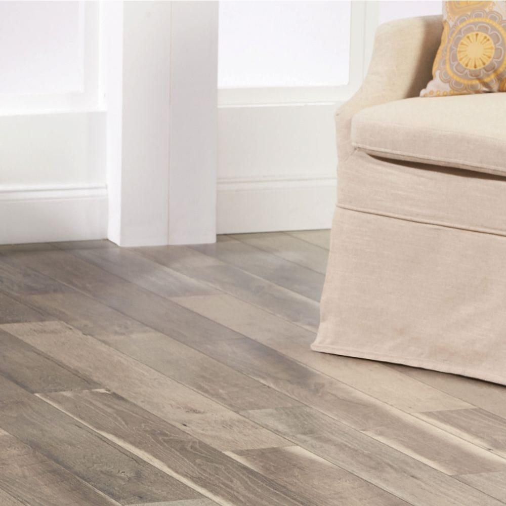 Home Decorators Collection Grey Oak 12 mm Thick x 5.98 in. Wide x ...