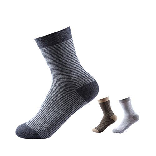 TULIPTREND Womens 3 Pack Fashion Striped Cotton Sport Socks * You can get more details by clicking on the image.