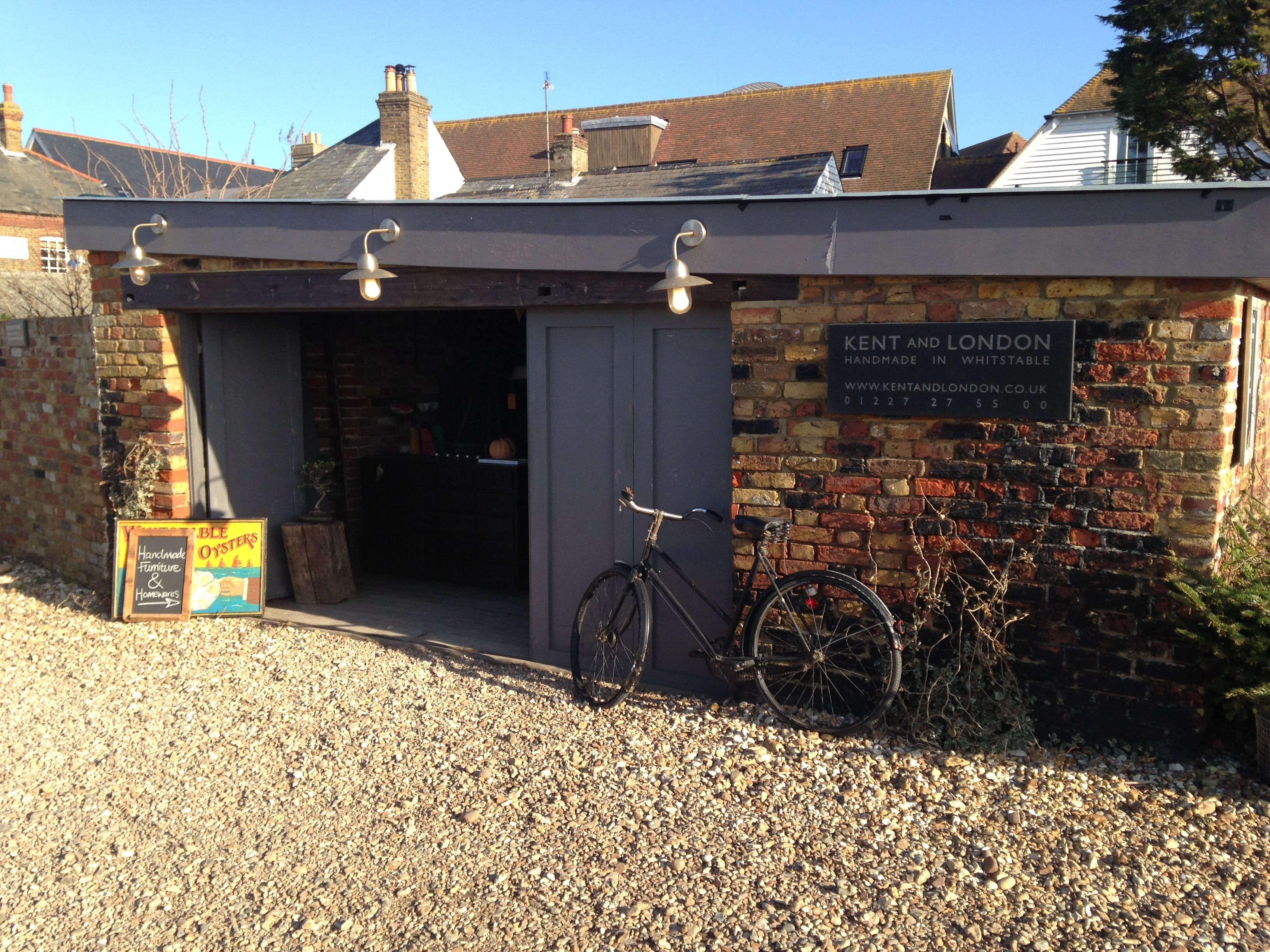Kent and London shop on Whitstable sea front