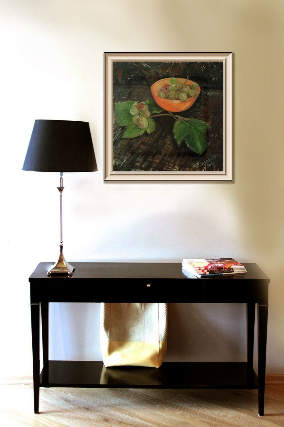 modern grape still life warm color wall art dining room on best wall color for artwork id=30887
