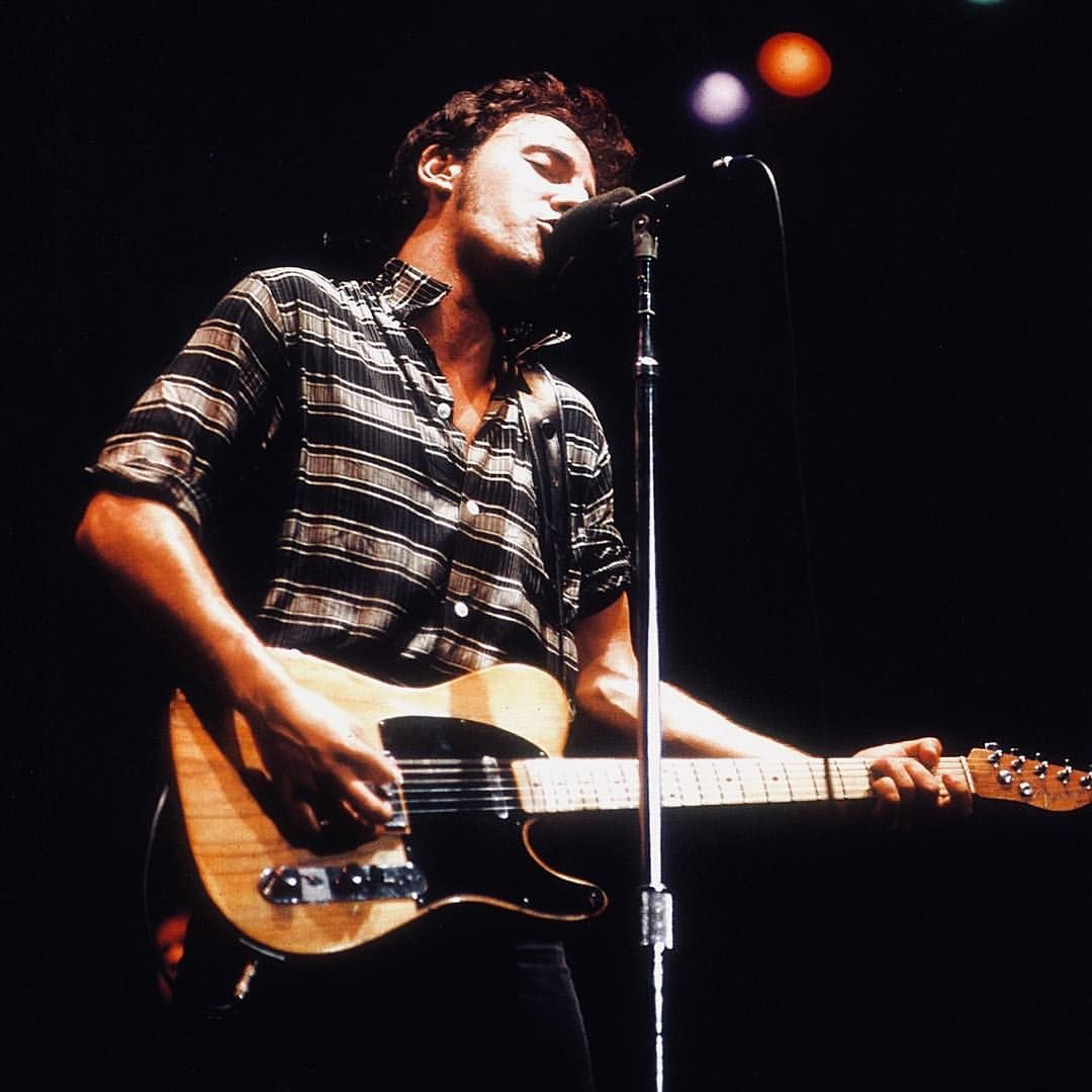 The River Tour 1980 1981 Brucespringsteen Springsteen Therivertour