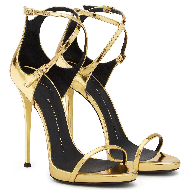 ff5ac6dcba566 Darcie - Sandals - Gold | Giuseppe Zanotti Giuseppe Zanotti Heels, Giuseppe  Zanotti Design,