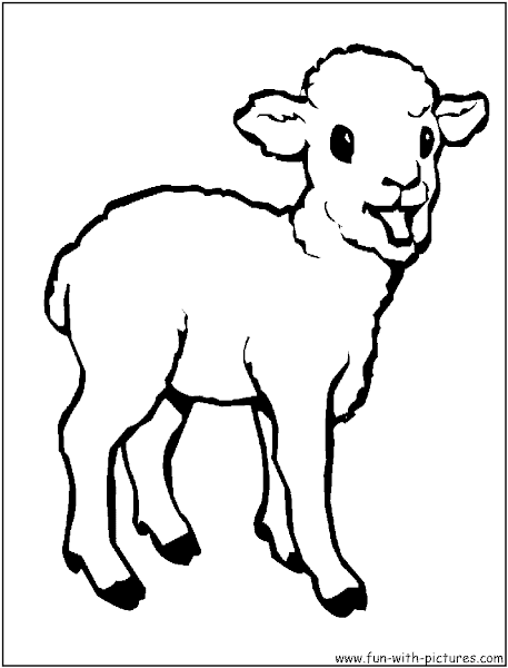playhouse disney coloring pages to print baby animals coloring pages lamb coloring page coloringpages