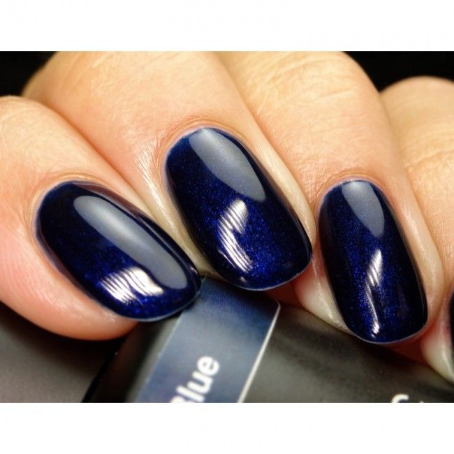 117 Night Blue 15 ml , Blu Notte , Smalto semipermanente Unghie In Gel Blu,