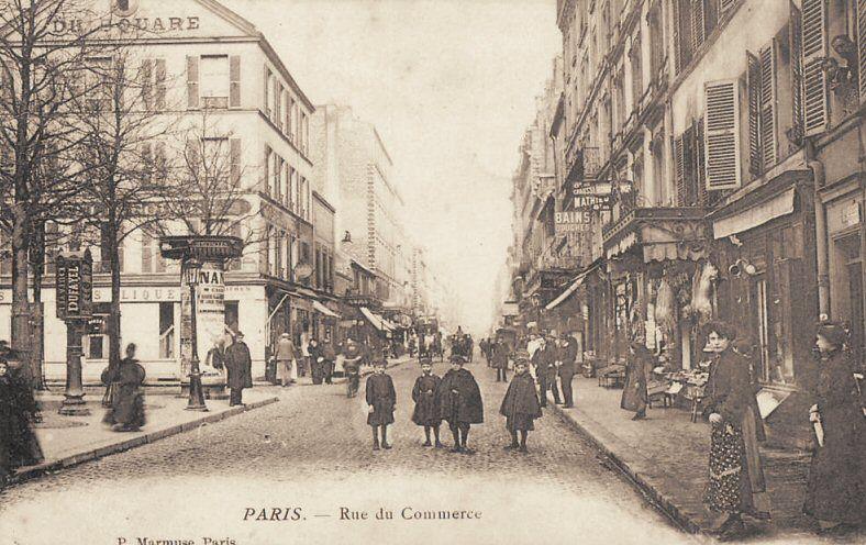 Rue Du Commerce Paris 15eme Paris Vieux Paris Rue De Paris