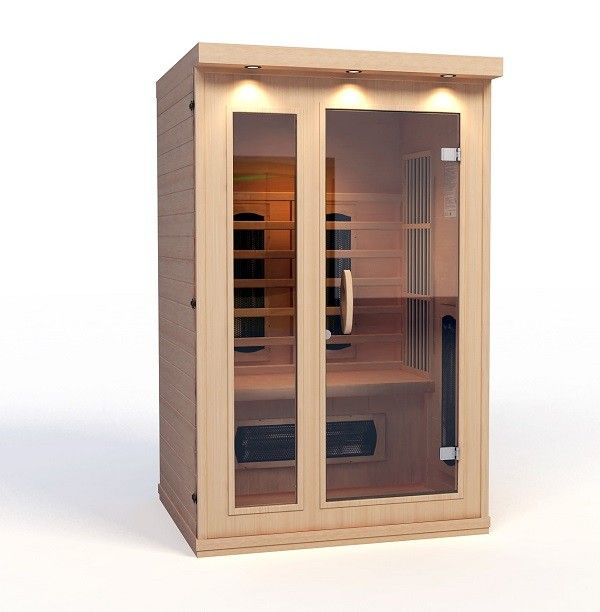 infrarotkabine sauna infrarot infraplus 2 trendy pool. Black Bedroom Furniture Sets. Home Design Ideas