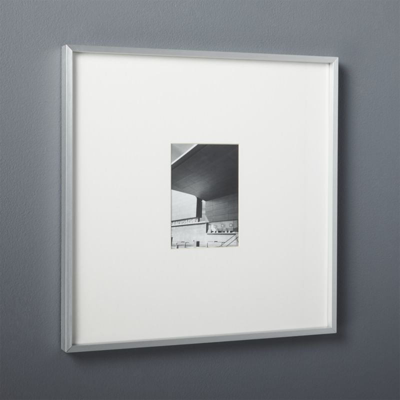 gallery brushed silver 5x7 picture frame | 5x7 picture frames ...