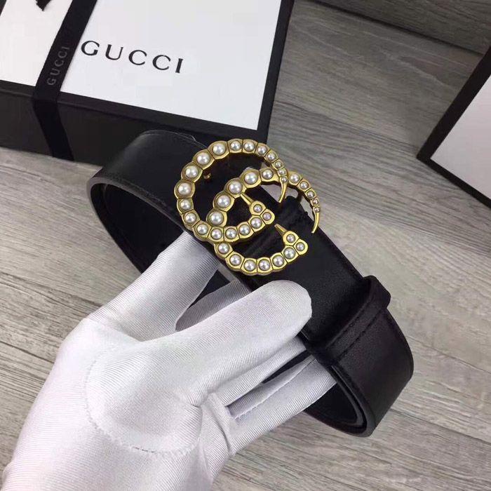 c61aa57fde5d3 Cinto Gucci feminino  elegância