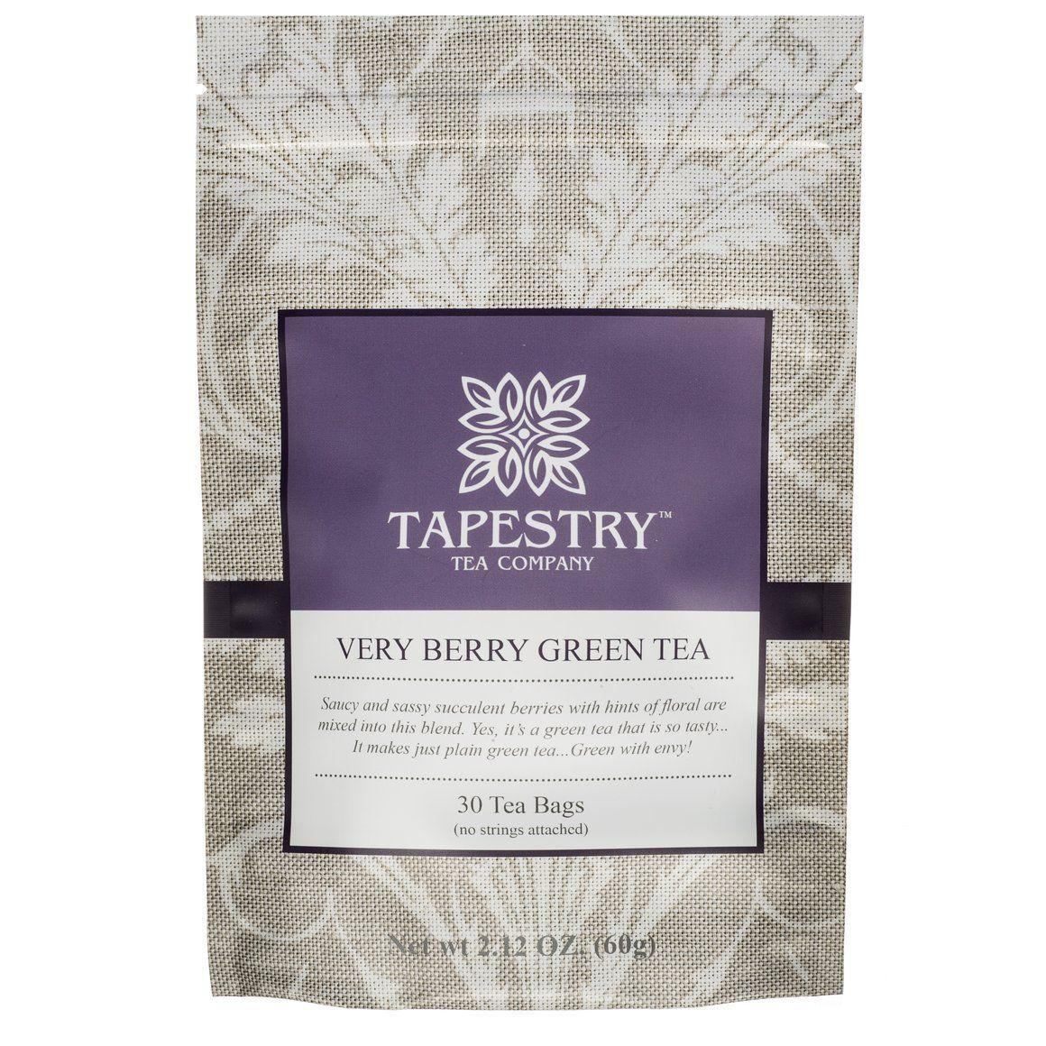 Green tea from Tapestry Tea Company