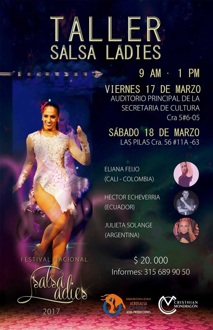 Talleres De Baile Salsa Ladies 2017 Secretaria De Cultura Escuela De Salsa Baile