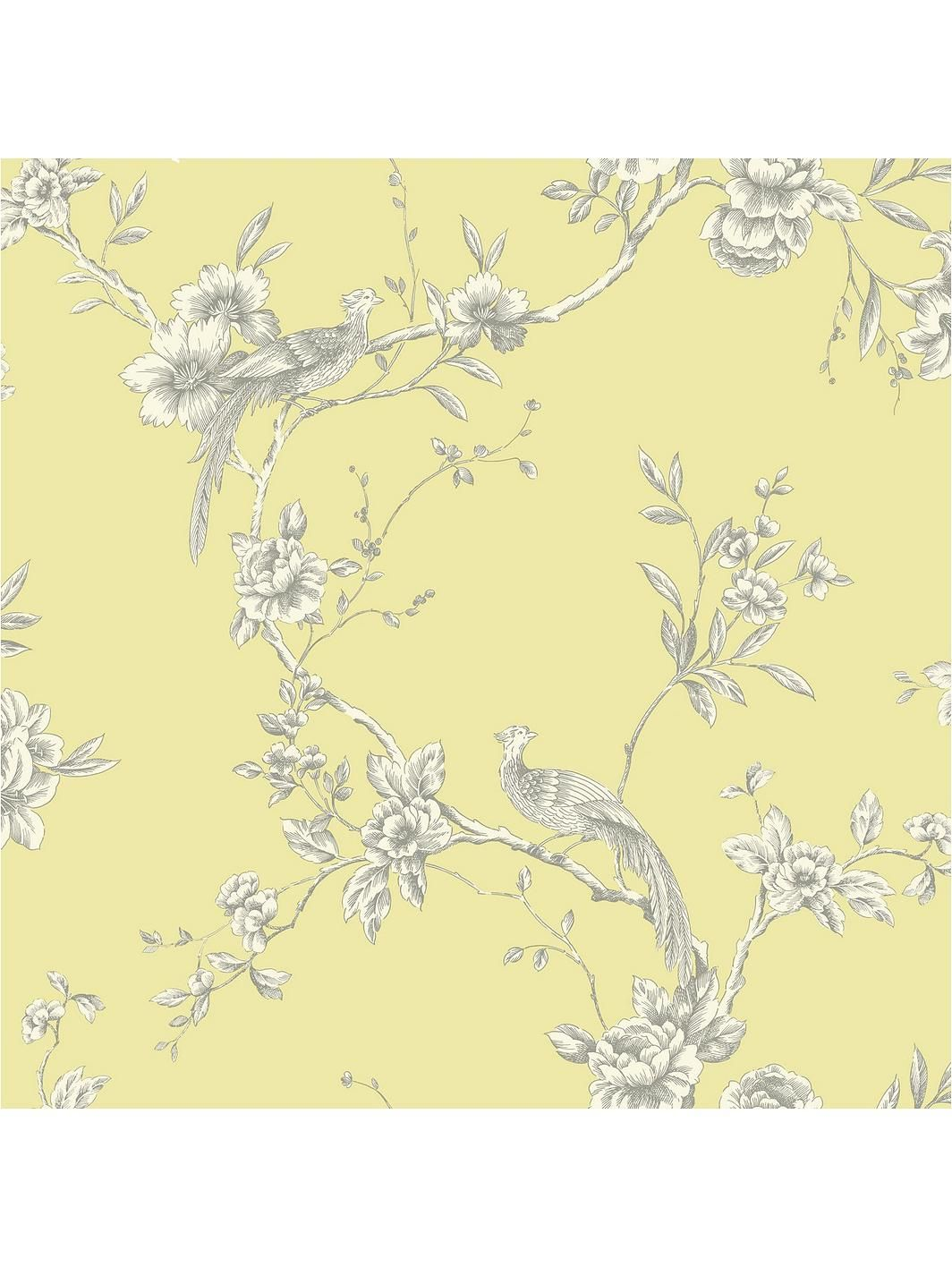 ARTHOUSE Chinoise Yellow Wallpaper (With images) Yellow
