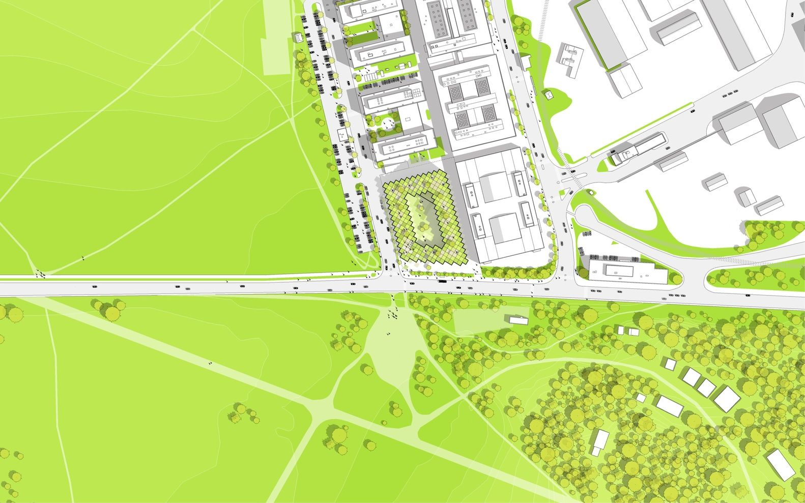 Gallery Of 79 Park Big 25 Park Pictures Site Plan Drawing Architecture Graphics