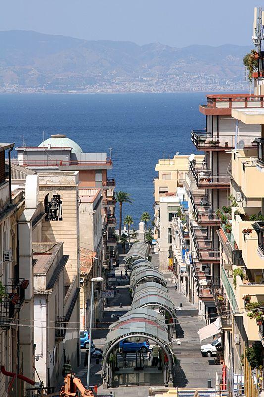 Streets of Reggio, Reggio di Calabria, Italy