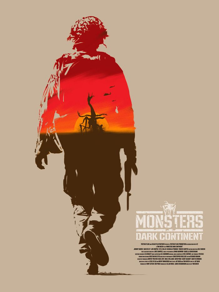 Monsters Dark Continent by Andrew Swainson Monsters