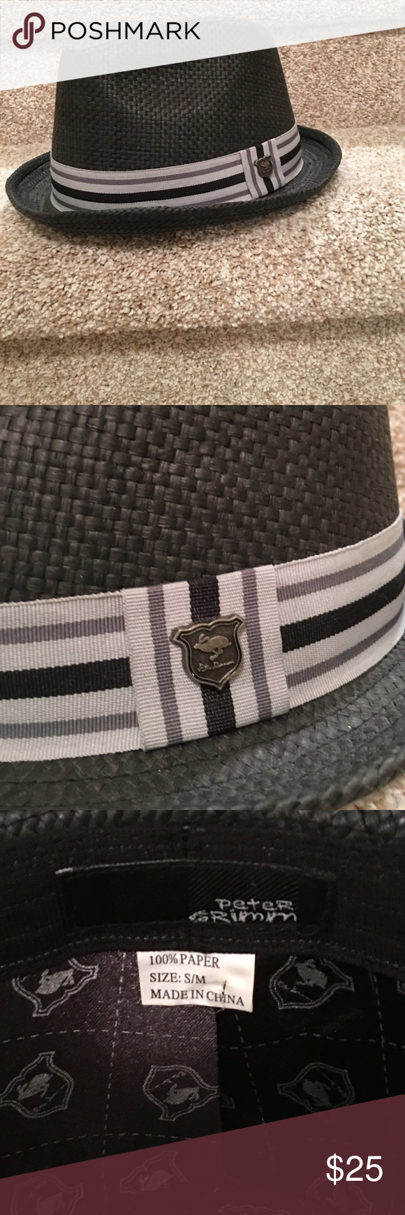 Peter Grimm fedora Clean, No sweat marks or smells. Size s/m No damage. Nice condition peter grimm Accessories Hats