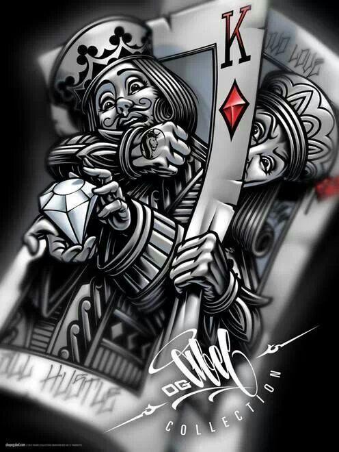 Poker King Card Google Sogning Playing Card Tattoos Poker Tattoo Card Tattoo