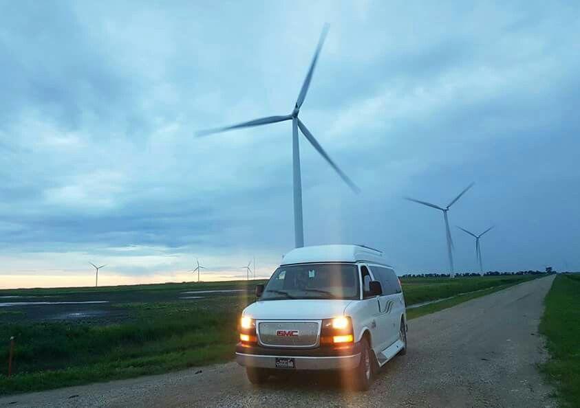 Manitoba wind turbine