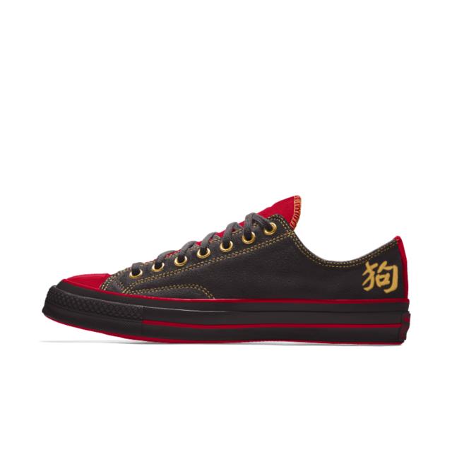 Converse Custom Chuck 70 Suede Chinese New Year Low Top Shoe Converse Gucci Leather Shoes